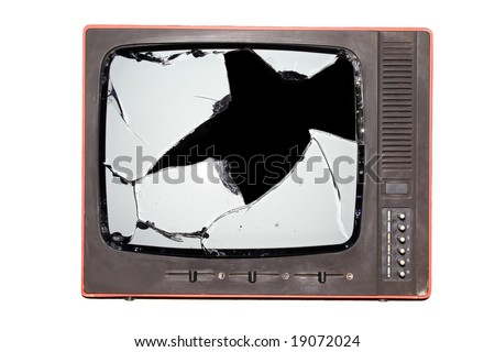 Broken Tv Stock Photos Images Amp Pictures Shutterstock