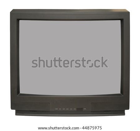 Old TV set - stock photo
