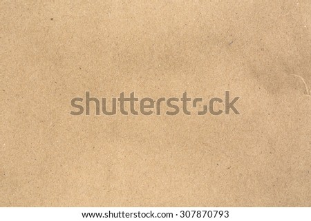 Old vintage brown cardboard paper texture for background - stock photo