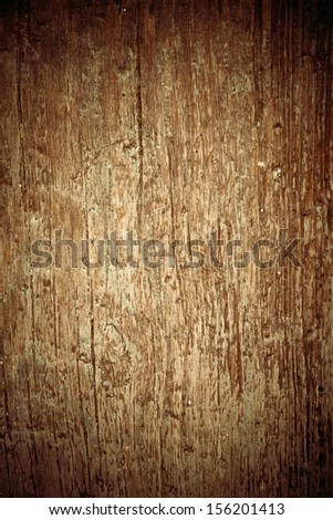 Old vintage dark wooden texture - stock photo