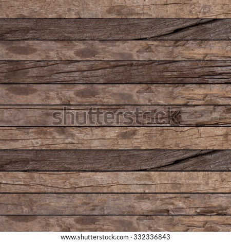 old vintage grungy brown wood backgrounds textures:grunge wooden backgrounds in horizontal line:rustic grunge wooden backgrounds for interior,design,decorate.instagram filter.picture in square. - stock photo