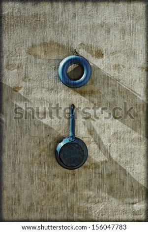 Old vintage kitchen ware  - stock photo