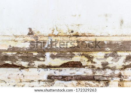 old wall concrete background ,old dirty texture - stock photo