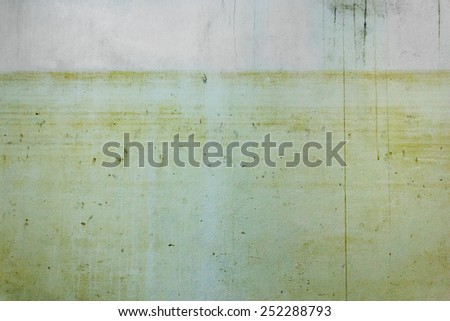 old wall flood background texture - stock photo