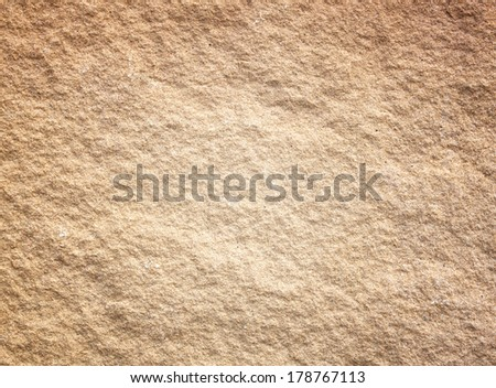 Old wall made of the stone objects of nature. - stock photo