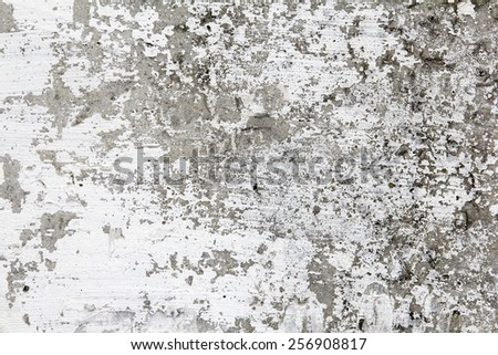 old wall with plaster - stock photo