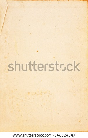 Old weathered paper texture - stock photo