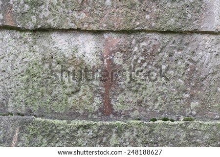 Old weathered wall texture background - stock photo