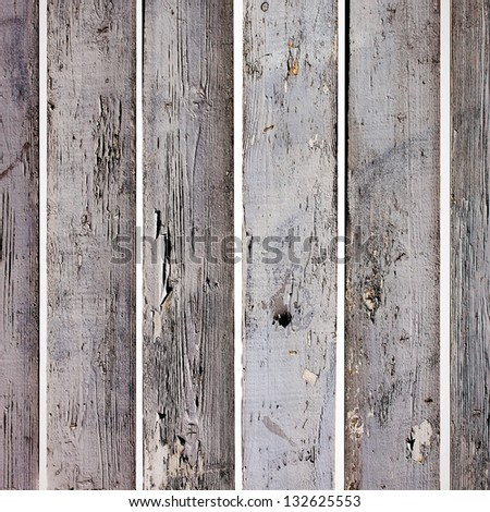 Old weathered wood boards - stock photo