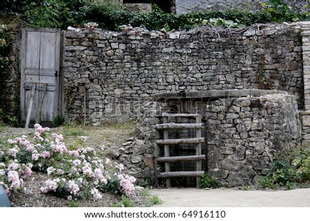 Old well - stock photo