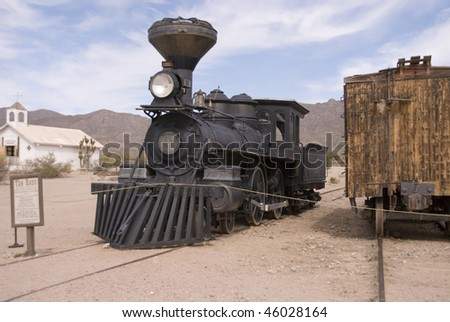 Old West Train - stock photo