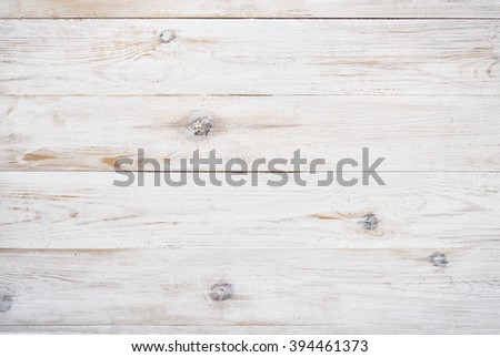 Old white painted wooden background - stock photo