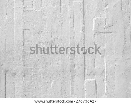 old white plaster wall texture - stock photo