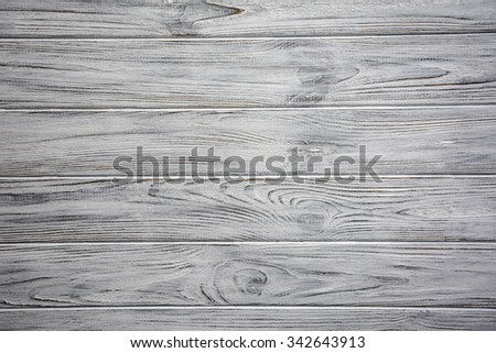 Old white vintage wooden old planks background - stock photo