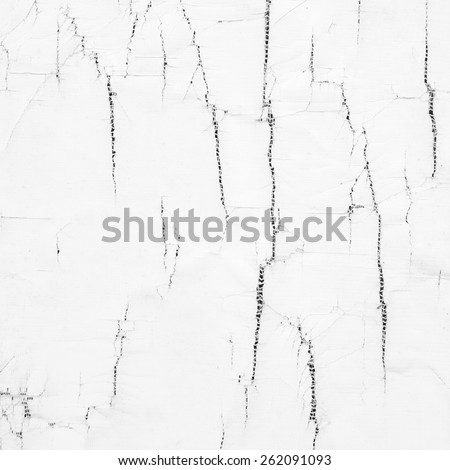 Old white wall texture, dirty background - stock photo