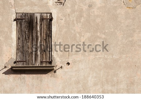 old window - stock photo