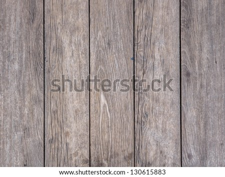 Old Wood Background in Vertical Pattern, Natural Color. - stock photo