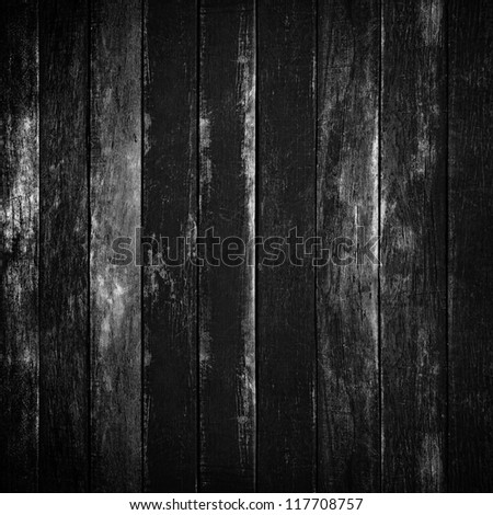 old wood board - stock photo