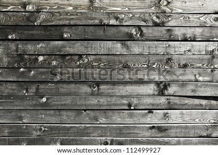 Old wood messy and grungy texture - stock photo