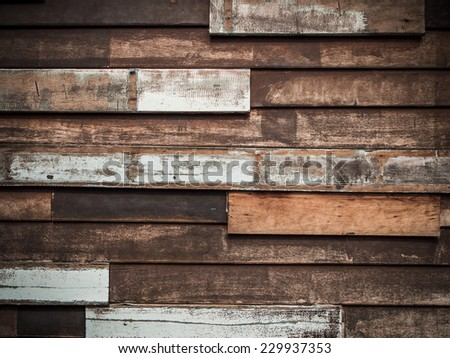 Old wood patch background - stock photo