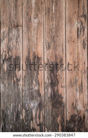 Old wood planks - stock photo