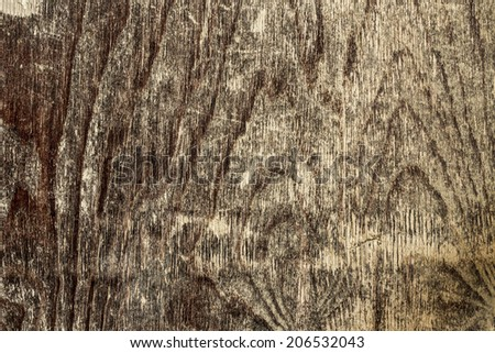 Old Wood Texture./ Old Wood Texture. - stock photo