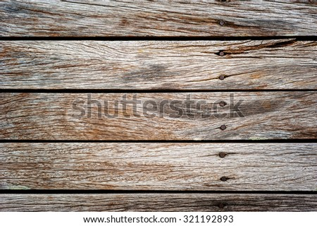 old wood texture, wooden plank, wood background - stock photo