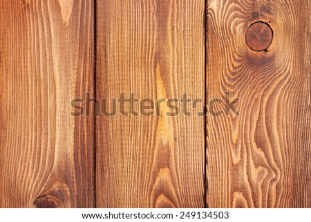 Old wood vertical texture background - stock photo