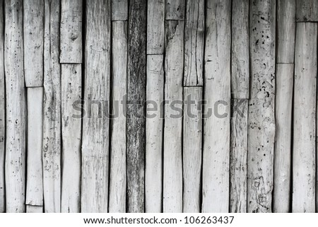 Old wood wall background texture - stock photo