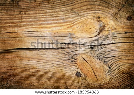 Old wooden background or texture - stock photo
