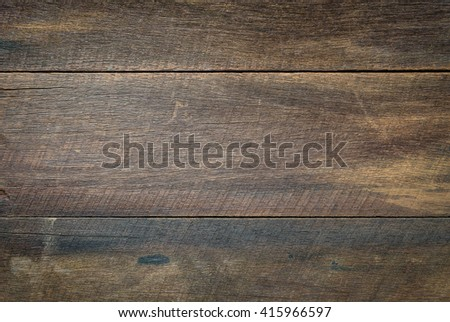 Old wooden background. Wooden table or floor - stock photo