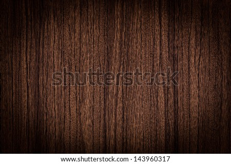 Old wooden board with a vignetting - stock photo
