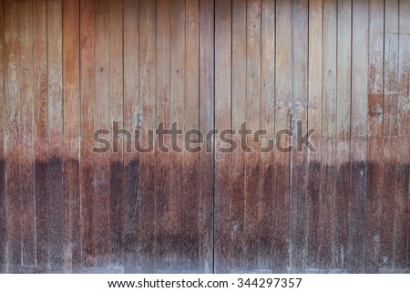old wooden door texture background  - stock photo