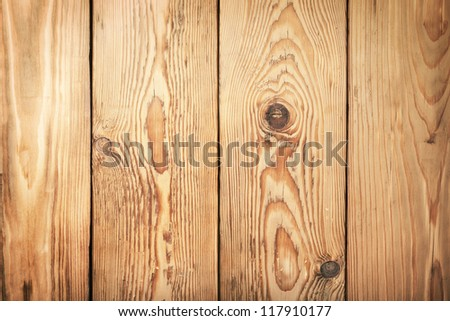 Old wooden planks texture for background. Top view - stock photo