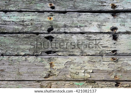 Old wooden texture. Wooden background. - stock photo