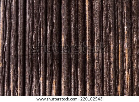 Old wooden wall background - stock photo