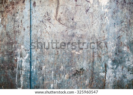 Old worn messy rusty texture - stock photo