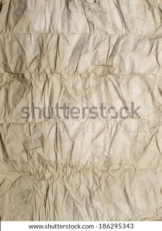 old wrinkled paper great as a background - stock photo