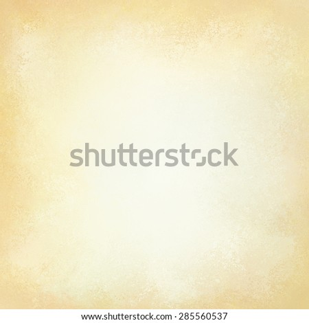 old yellowed paper background with vintage texture layout, off white or cream background color - stock photo