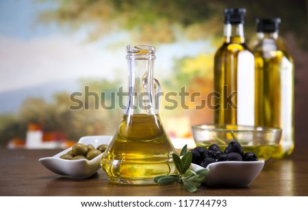 Olive Oil - stock photo