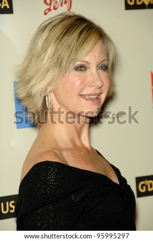 OLIVIA NEWTON JOHN at the Penfolds Icon Gala - part of the G'Day LA week - at the Century Plaza Hotel. January 13, 2007 Los Angeles, CA Picture: Paul Smith / Featureflash - stock photo