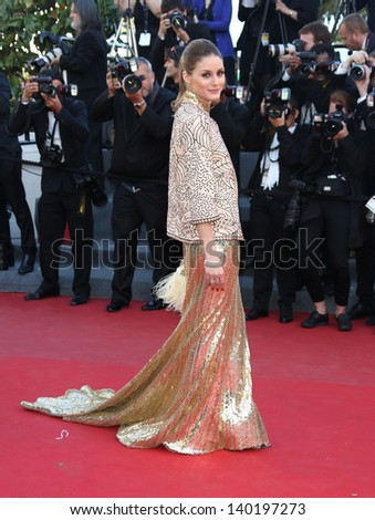 Olivia Palermo at the 66th Cannes Film Festival - The Immigrant premiere, Cannes, France. 24/05/2013 - stock photo