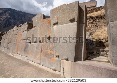 Ollantaytambo, Cuzco, Peru. - stock photo