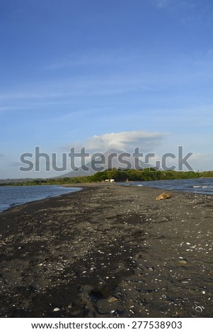 Ometepe island - stock photo