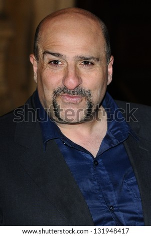 Omid Djalali arriving for the Prince's Trust Comedy Gala at the Royal Albert Hall, London. 28/11/2012 Picture by: Steve Vas - stock photo
