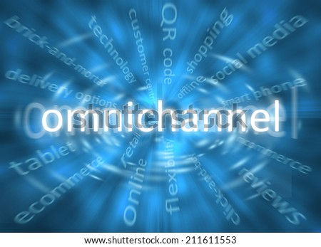 Omnichannel - stock photo
