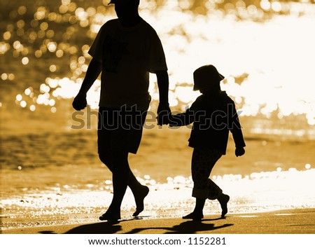 On the seashore - stock photo