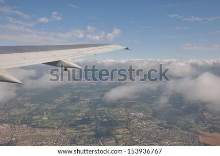 on the sky - stock photo
