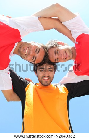 One, two, three, Go! - stock photo