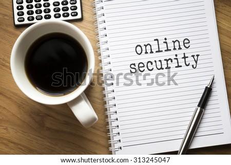 Online Security conceptual - stock photo